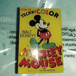 WDW TECHNICOLOR MICKEY MOUSE PIN